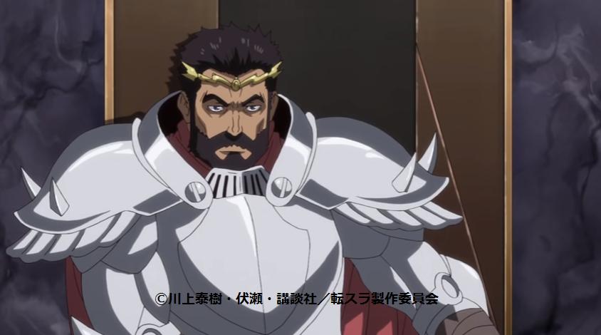 英雄王ガゼル・ドワルゴの雄姿(転スラ第5話)