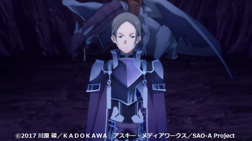 拳闘士軍団の前に立ちはだかる整合騎士シェータ(SAOWoU9話)